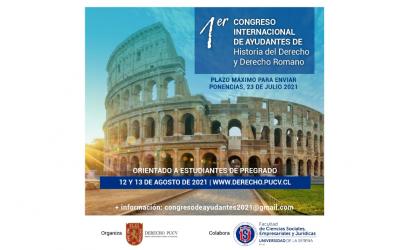 1er Congreso Internacional De Ayudantes De Historia Del Derecho Y Derecho Romano